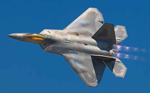 F-22 Raptor Stealth fighter Fabric Cloth Rolled Wall Poster