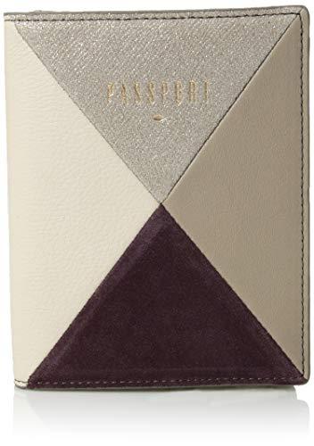 Fossil RFID Passport Case Purple Multi