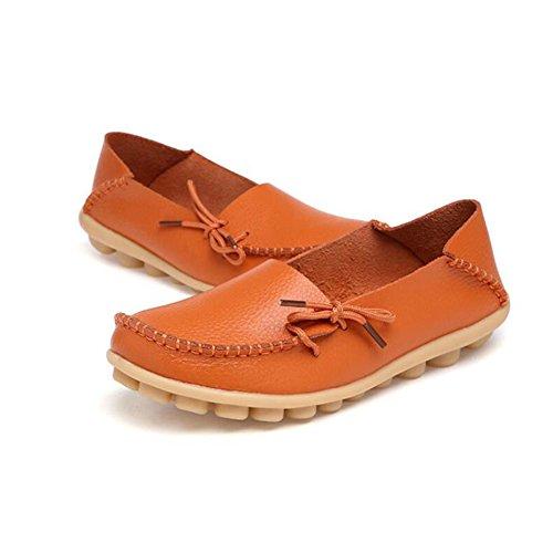 Top cuero Spring de Oxfords ocasionales gran de SHINIK Summer las de Slip mujeres de guisantes Zapatos tamaño enfermera Zapatos planos Zapatos Low Ons Mocasines de Segundo zxqvXUT