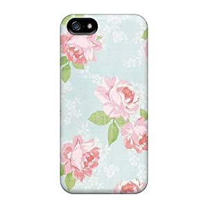Series Skin Case Cover For Iphone 5/5s(vintage Floral)