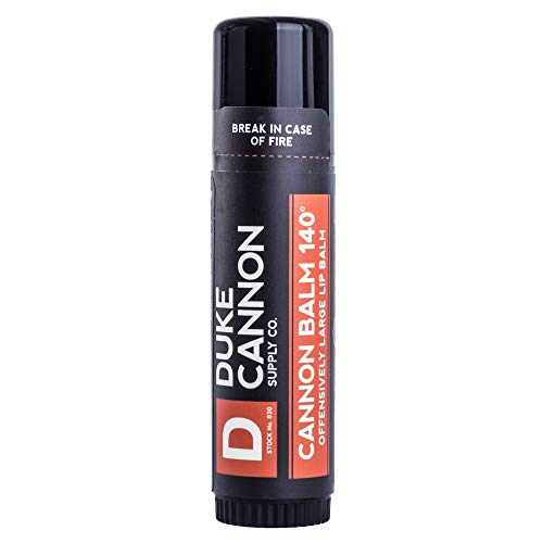 Duke Cannon Balm 140 Tactical Lip Protectant with SPF 30, Large 0.56 oz