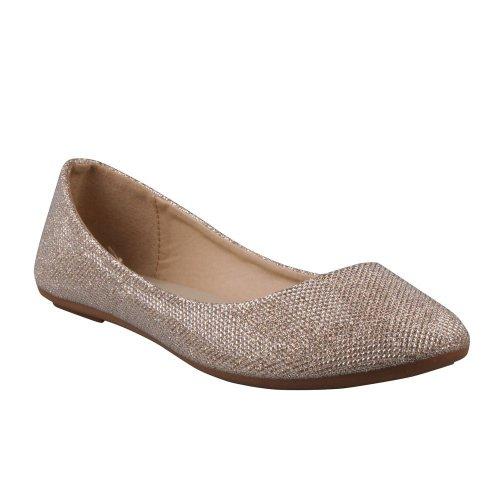 refresh-demi-07-womens-glitter-shinny-ballerina-ballet-slip-on-flats9-bm-usgold