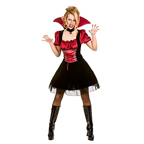 Adults Ladies Bloodlust Vamp Costume for Vampire Dracula Cosplay US Size 14 - 16 -