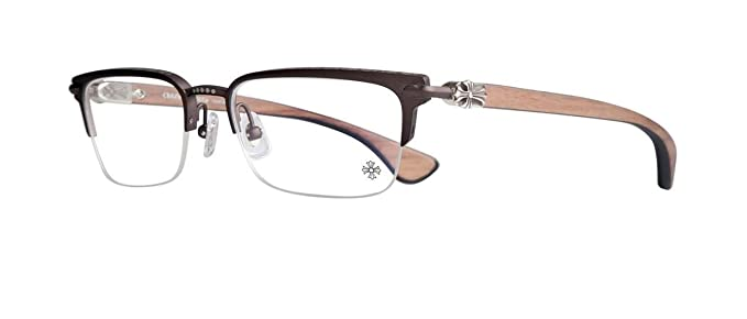 5d3636b5423 Chrome Hearts - Sugar Walls - Eyeglasses (Wood) (Chocolate Brown-Wood Walnut