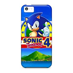 Awesome AGpacgN931qEkbA Mialisabblake Defender Tpu Hard Case Cover For Iphone 5c- Sonic The Hedgehog 4