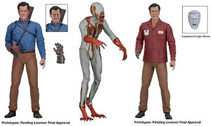 "IN STOCK Eligos 7/"" Action Figure NECA Ash vs Evil Dead Bruce Campbell"