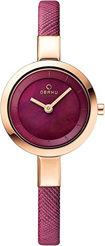 OBAKU watch two stitches V129LXVQRD Ladies Watch