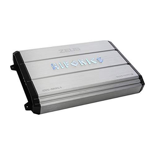 x 11.70in 18.40in x 3.50in. Hifonics ZXX-1000.4 Zeus 4 Channel Bridgeable Amplifier Silver