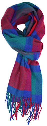 Ted Jack - Ted's Cashmere Feel Checkered Or Plaid Scarf