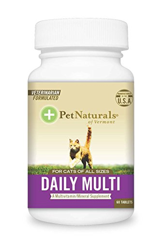 Pet Natural's of Vermont 60 Count Multivitamin Formula Tablets for Cats