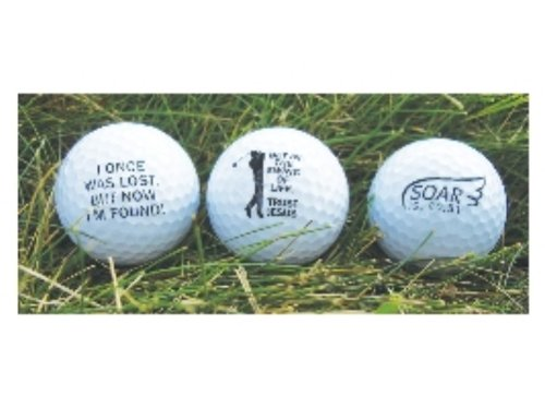Christian Inspirational Golf Ball Set, Outdoor Stuffs