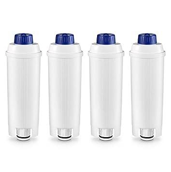 VYAIR 9310926 Suavizador de filtro de agua compatible para adaptarse a DeLonghi DLSC002, SER3017, 5513292811, 8004399327252 Máquinas de café de grano a café ...