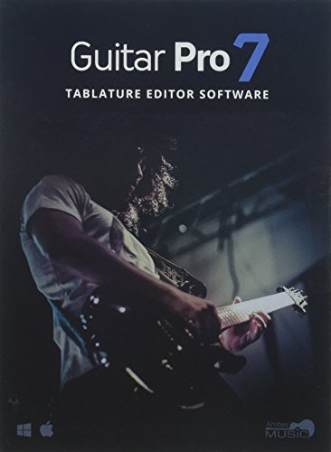 Guitar Pro 7 – Tablature and Notation Editor, Score Player, Guitar Amp and FX Software