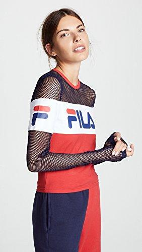 4250b8001ee Jual Fila Women's Tara Crop Top - Blouses & Button-Down Shirts ...