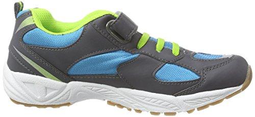 Lico Bob VS - zapatillas deportivas de material sintético niño azul - Blau (blau/anthrazit/lemon)