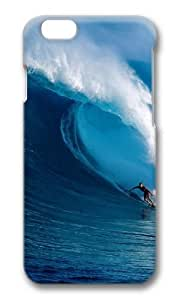 Awesome Nature Surfer Hard Protective Shell Cell PhoneDiy For Iphone 6Plus Case Cover PC 3D