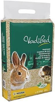 Vadigran Vadibed 4189 – Virutas de madera para pequeños animales 35L, 2,5kg