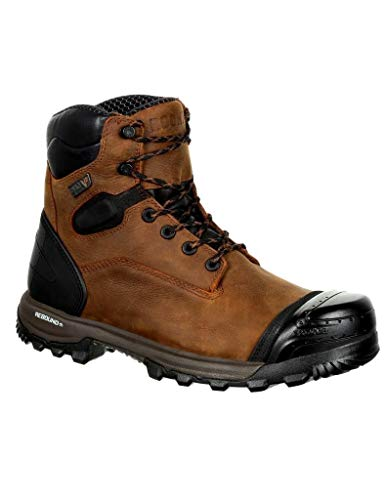 Waterproof Work Composite Brown Boots Xo 6'' Toe Rocky Men's Y4qIWwAPAX