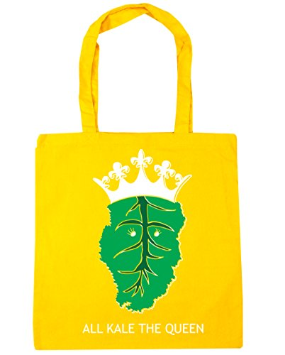 Tote Kale litres The HippoWarehouse Yellow Shopping x38cm Queen Bag 10 All Gym Beach 42cm wqHAxHI7