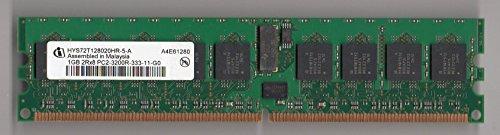 INFINEON / QIMONDA HYS72T128020HR-5-A PC2-3200R DDR2 400 1GB ECC REG 1RX8 (FOR SERVER ONLY) 1gb Ecc Reg Pc