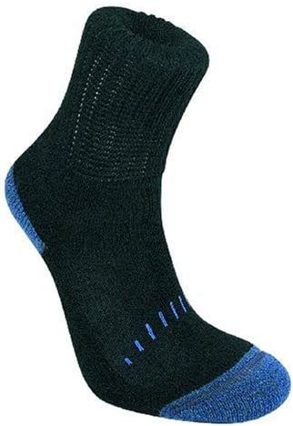 Bridgedale Merino Fusion Hiker Junior Kids Walking Socks Black//Grey