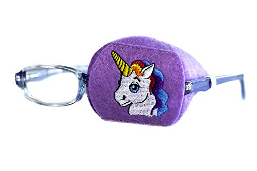 Eye Patch - Left Coverage Child Unicorn Eye Glass Eye Patch by Patch Pals from Patch Pals