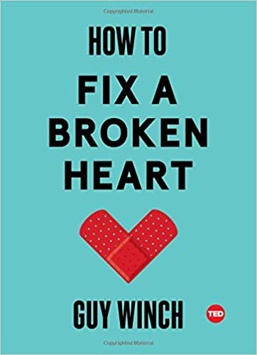 Turning the page. How to mend a broken heart for men.