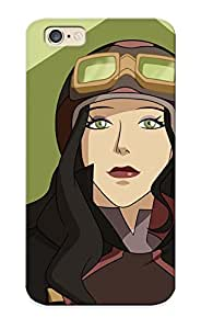 Tenuresoph High Quality Shock Absorbing Case For Iphone 6-asami Sato Avatar The Legend Of Korra