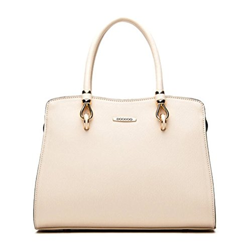 Shoulder Fashion Women's Casual Bagtopia Tote Z5022 Top Leather handle White OL Purse Bag Satchel Crossbody Handbags vwUUq5f1