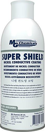 MG Chemicals Super Shield Nickel Conductive Coating, 12 oz Aerosol Spray
