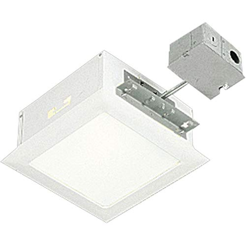 (150W Incandescent Complete Square Non-IC Recessed Light with Housing)