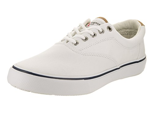 Sperry Top-Sider Men's Striper CVO White Casual Shoe 8.5 Men US