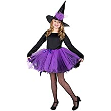 Witch Girl Costume Set - Perfect for Halloween, Costume Party
