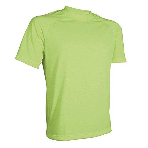 Tru-Spec T-Shirt, Tru Hvy Dri-Release P/C 4.6oz Jersey, Hi-Vis Yellow, Large (T-shirt Captain Yellow)