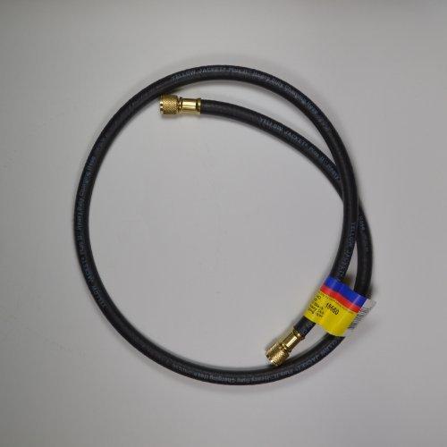 [해외]노란색 자켓 BC-60 3 8 fl str. /Yellow Jacket BC-60  3 8  fl str. x 3 8  fl. str. Combination Charging Hi-Vacuum Hose