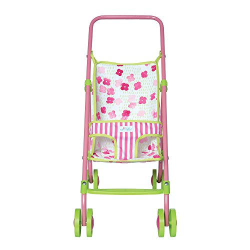 "Manhattan Toy Baby Stella Baby Stroller Toy for 12"" and 15"" Soft Dolls"