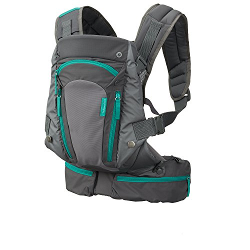 Infantino Carry On Carrier, Grey, One Size (Best Baby Carrier For Tall Parents)