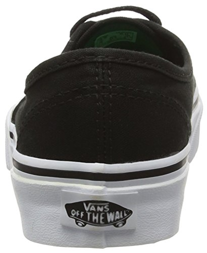 Noir Adulto Kelly Scarpe Pop Ginnastica Unisex da Green Authentic Black Basse Vans Sport BSq0P