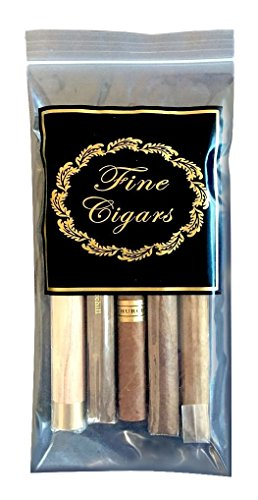 Prestige Import Group - Zip Lock Cigar Bags - 25 Pack - Fine Cigars Insigna ()