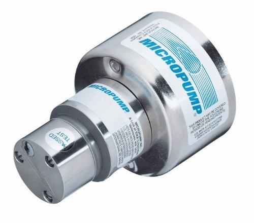 Micropump L22092 A-Mount Cavity Style Pump Head; Bypass/SS/PTFE/PTFE; 0.32 mL/rev