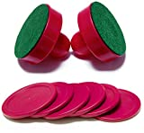 nonbrand Air Hockey Pucks and Paddles Replacement