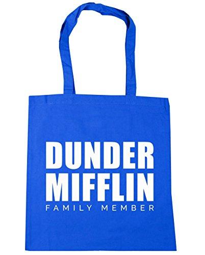 10 Dunder Bag Blue family Gym Shopping HippoWarehouse Beach mifflin Cornflower x38cm litres 42cm Tote member PAT1dq4