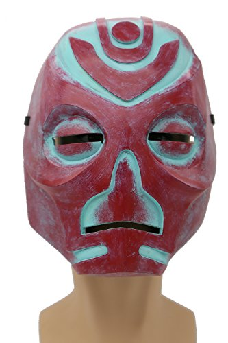 XCOSER Hevnoraak Mask Props Costume Accessories for Adult Halloween Cosplay Red