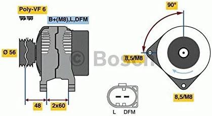 BOSCH 0986081230 Generator