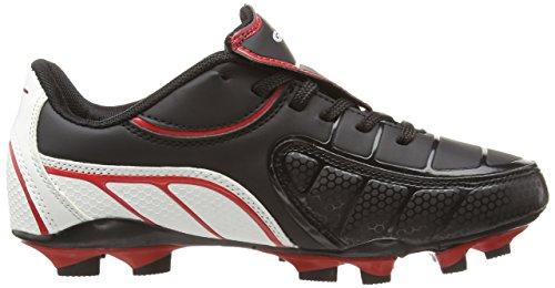 Gola Onslaught Blade - Zapatillas de fútbol de material sintético niños negro - negro, rojo y blanco