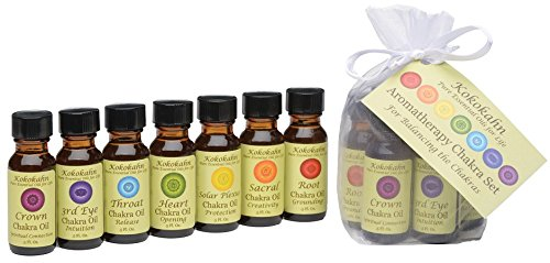 Chakra Oil Aromatherapy Set with Pure Essential Oils
