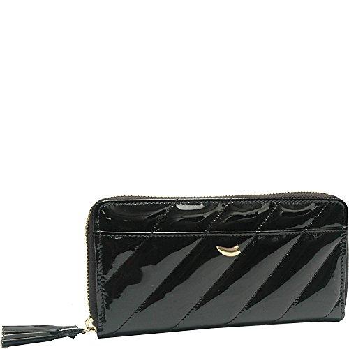 tusk-ltd-kiyomi-single-zip-gusseted-clutch-wallet-black
