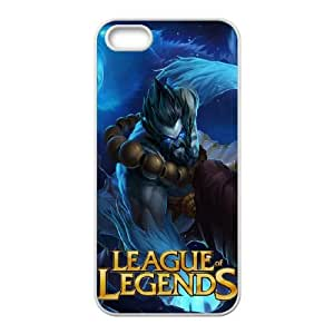 League Of Legends iPhone 4 4s Cell Phone Case White 8You226049