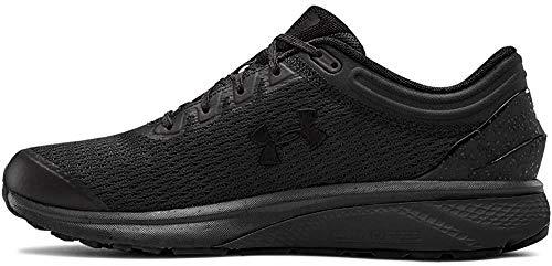 Under Armour Men's Charged Escape 3 Running Shoe, Black (002)/Black, 11