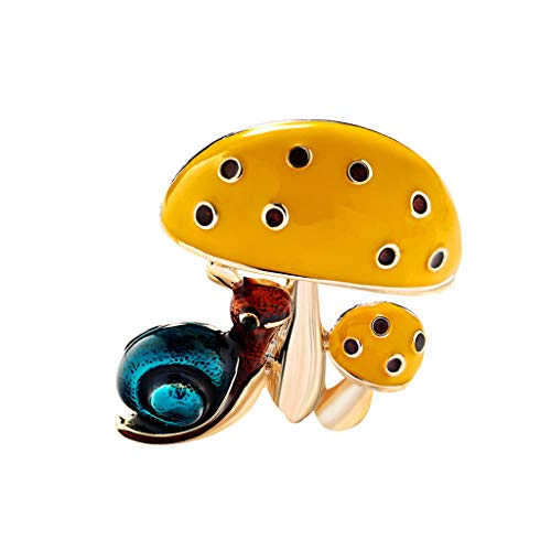 GoodLock(TM) Clearance Sale!!  Umbrella Brooch for Women  Fashion Drip Environmentally Friendly Alloy Jewelry Best Gifts (B)